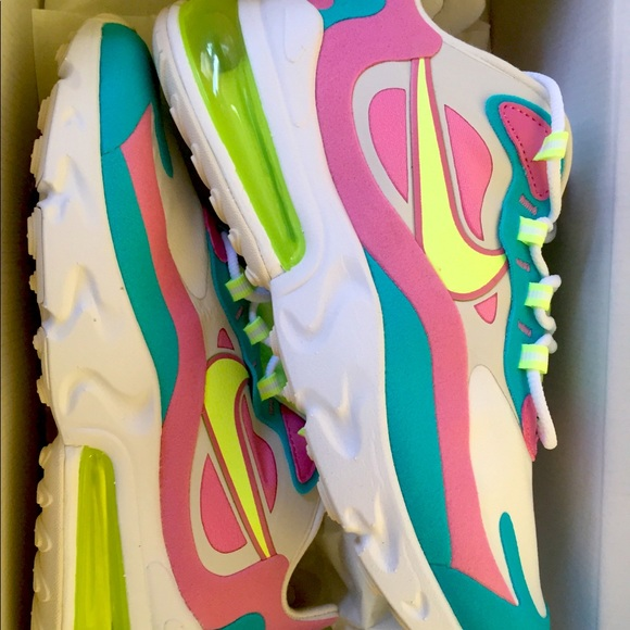 Nike Air Max 270 Pastel White Volt Rose